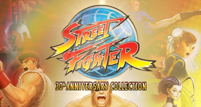 Street Fighter 30th Anniversary Collection annonsert
