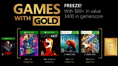 Xbox - March 2018 Games with Gold